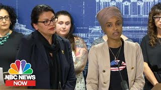 'Deeply Disturbed': Omar And Tlaib Condemn Israel Travel Restrictions | NBC News Now
