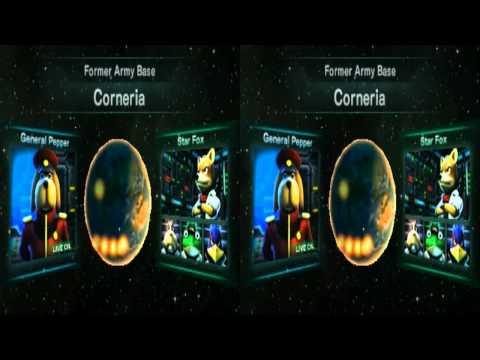 Starfox 64 3DS Stereoscopic Talkthrough
