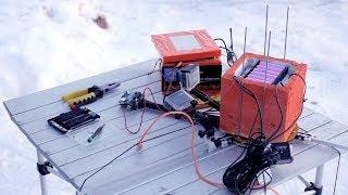 Arduino в космосе. Часть 3. Запускаем платы в стратосферу. С GPRS-шилдом, GPS-трекером и DS18b20