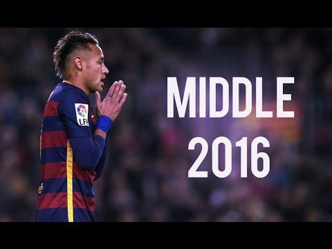 Neymar Jr ● Middle ● Skills & Goals | 2016 HD