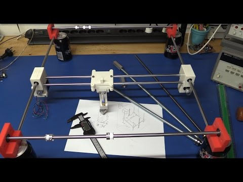 DIY 3D-Printer Build (From Scratch) - Part 3: Finishing the XY-Plane and Some Changes - Ec-Projects