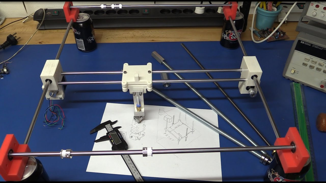 how to make a 3d printer pdf