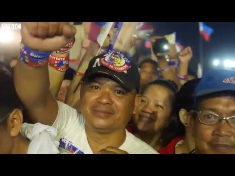 Philippines elections  Large crowds as polls open