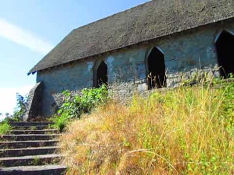 Haunted Old Stone Butter Church Built in 1870 in Cowichan Bay