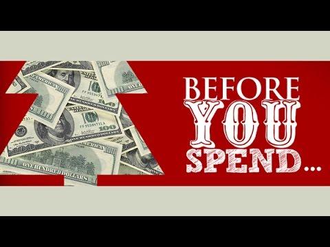 """Before You Spend, part 1: Invite God's Blessing"", Nov. 9, 2014, Pastor Joe Dobbins, TRWC"