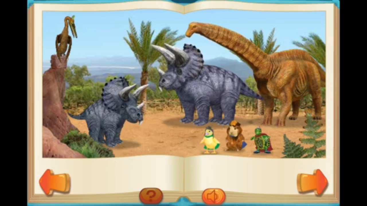 Save A Baby Dinosaur - Wonder Pets Games | Play-Games.com