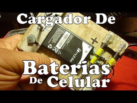 Cargador De Bateria Para Celular Casero Experimentos De