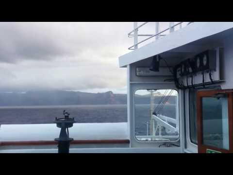May 2015 - Approaching St Helena on the RMS St Helena