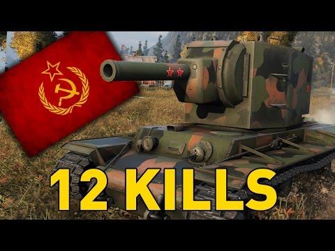 World of Tanks    KV-2 - King of Durp