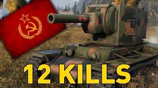 World of Tanks || KV-2 - King of Durp