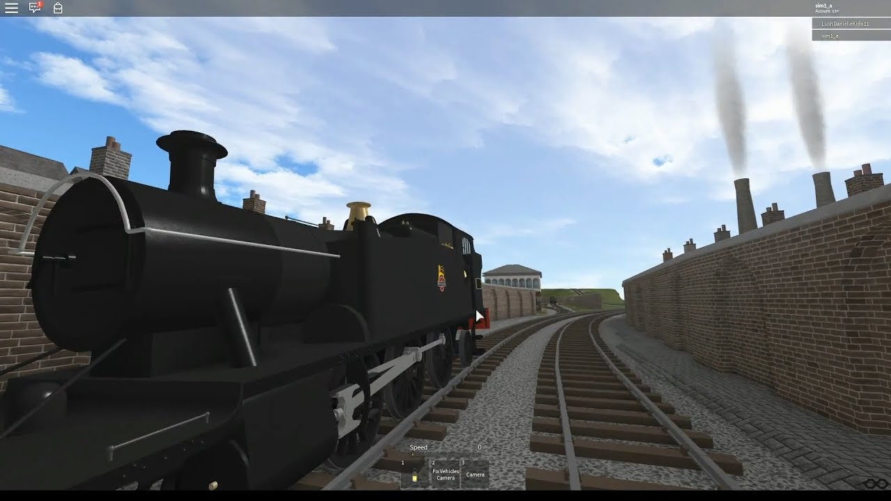 roblox thomas the train games