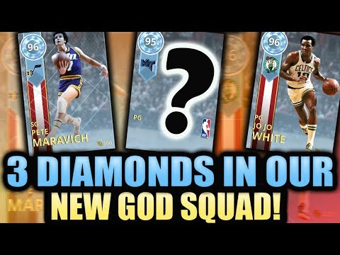 2K GAVE ME A THIRD DIAMOND FOR MY GOD SQUAD IN NBA 2K18 MYTEAM