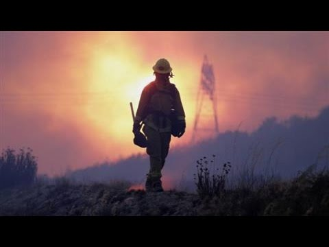 California Fire Drives 82,000 From Homes