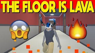 The Floor Is Lava In Strucid... w/ ProjectSupreme (Roblox Fortnite)