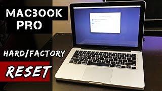 HOW to Factory Reset Macbook Pro/ No Disc/ [2018]