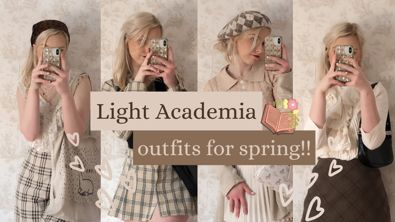 Light Academia Outfits For Spring Youtube Light academia outfit | shoplook. light academia outfits for spring