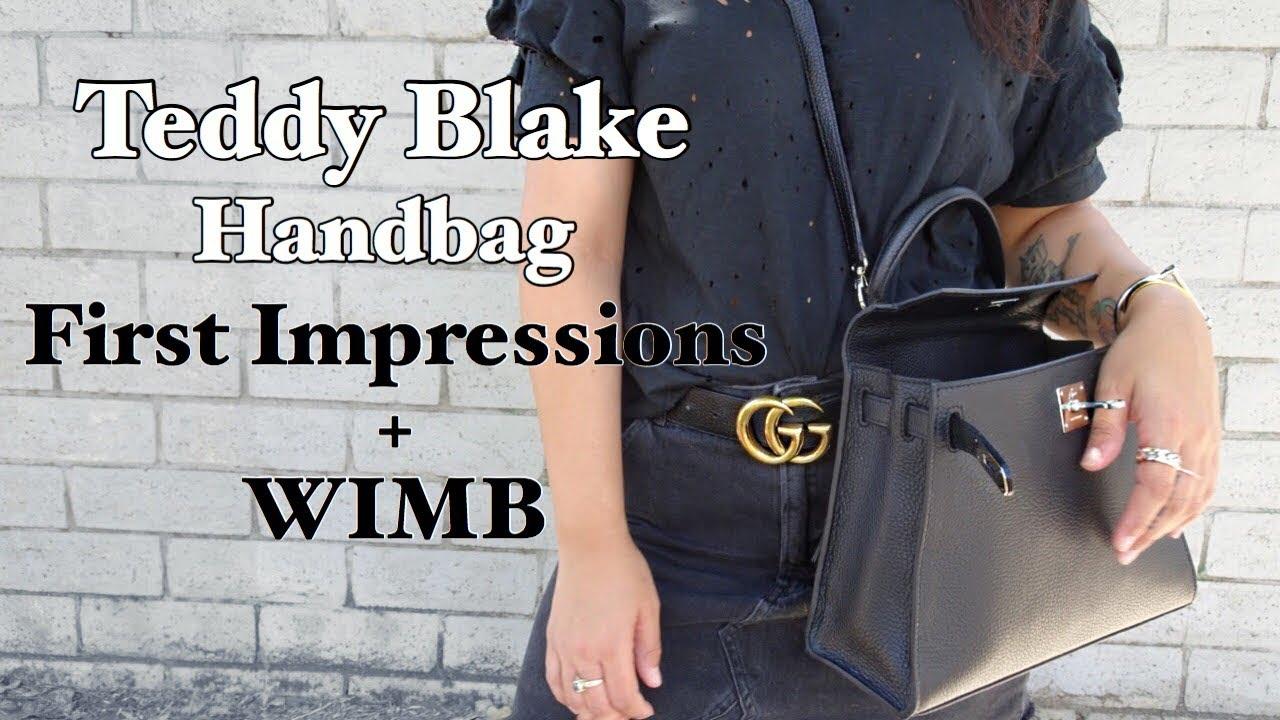 32f81a703c Teddy Blake Handbag First Impressions + WIMB