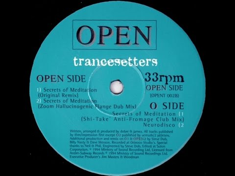 Trancesetters - Secrets Of Meditation/Neurodisco