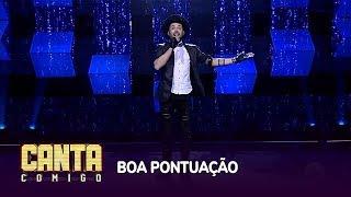 Gabriel Camilo conquista 81 votos com hit de Bruno Mars, mas não se classifica no Canta Comigo