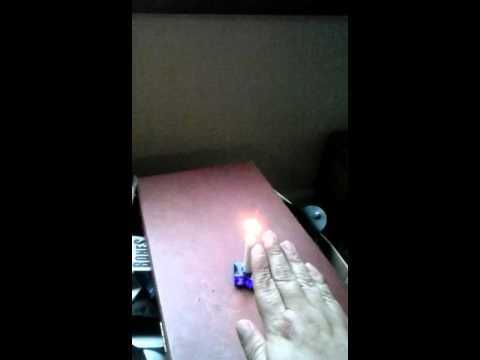 Putting out a candle  with pyrokinesis aura energy
