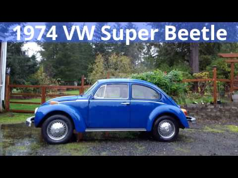 1974 VW Super Beetle Stereo Install
