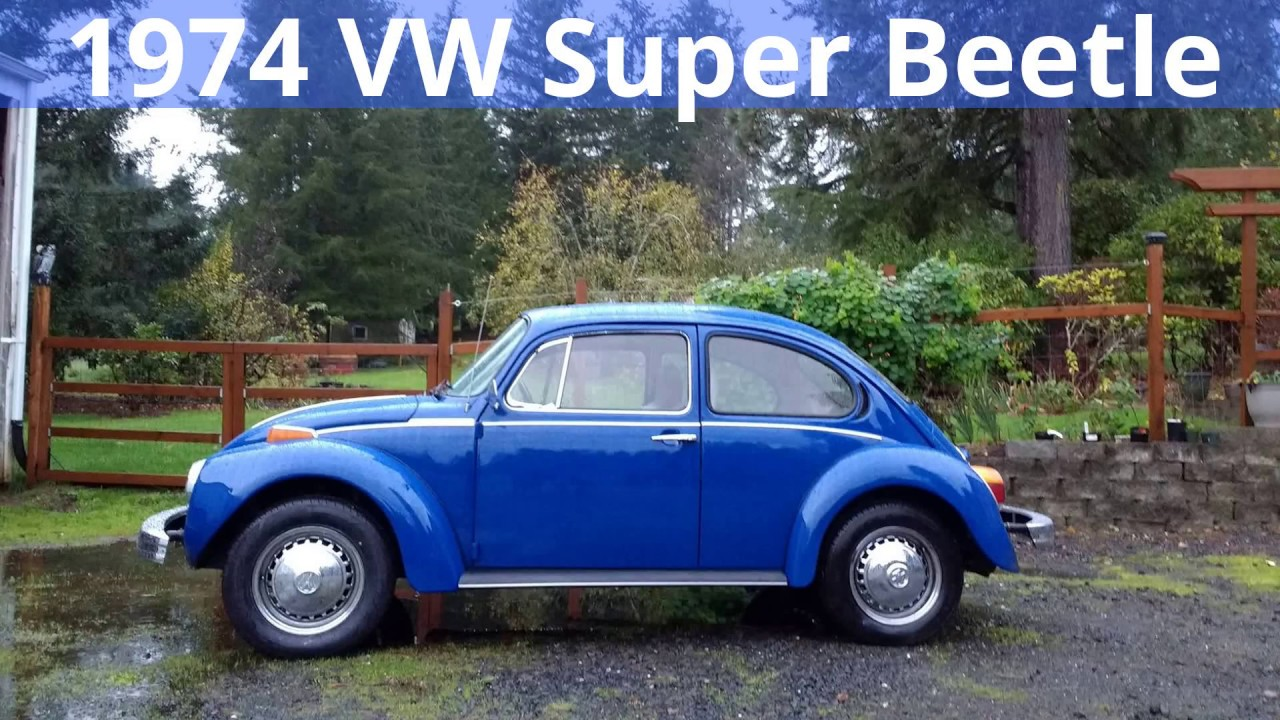 1974 VW Super Beetle Stereo Install - YouTube