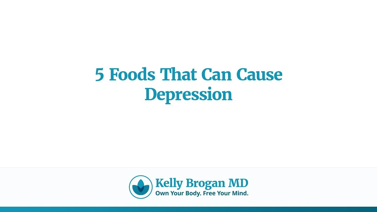 does diet cause depresion