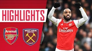 HIGHLIGHTS | Arsenal 1-0 West Ham | Premier League | March 7, 2020