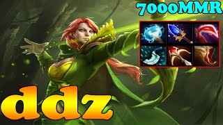 Dota 2 - ddz 7000 MMR Plays Windranger Vol 1 - Pub Match Gameplay!