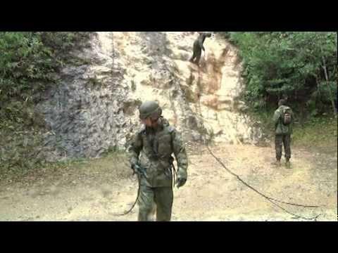Training for Jungle Warfare in Okinawa