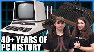 40 Years of Computer History - Commodore, Apple, Atari, & More, Ft. AkBKukU | LTX 2019