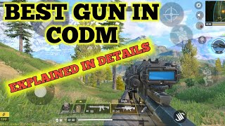 Explained all gun in codm + best gun !! Watch till end