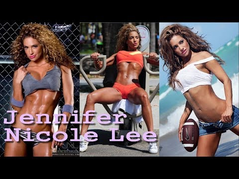 Jennifer Nicole Lee  American fitness celebrity   icon for a fitness lifestyle
