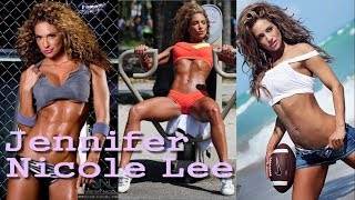 Jennifer Nicole Lee  American fitness celebrity | icon for a fitness lifestyle