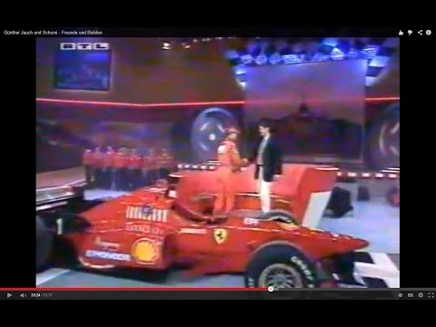Schumi, friends and cars - with Günther Jauch (German) 2.