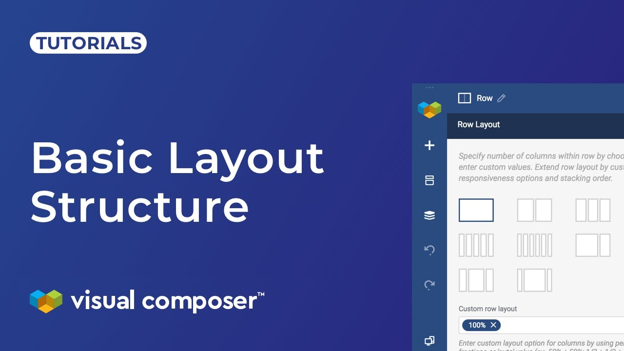 Grid Layout: Row and Column - Visual Composer Website Builder