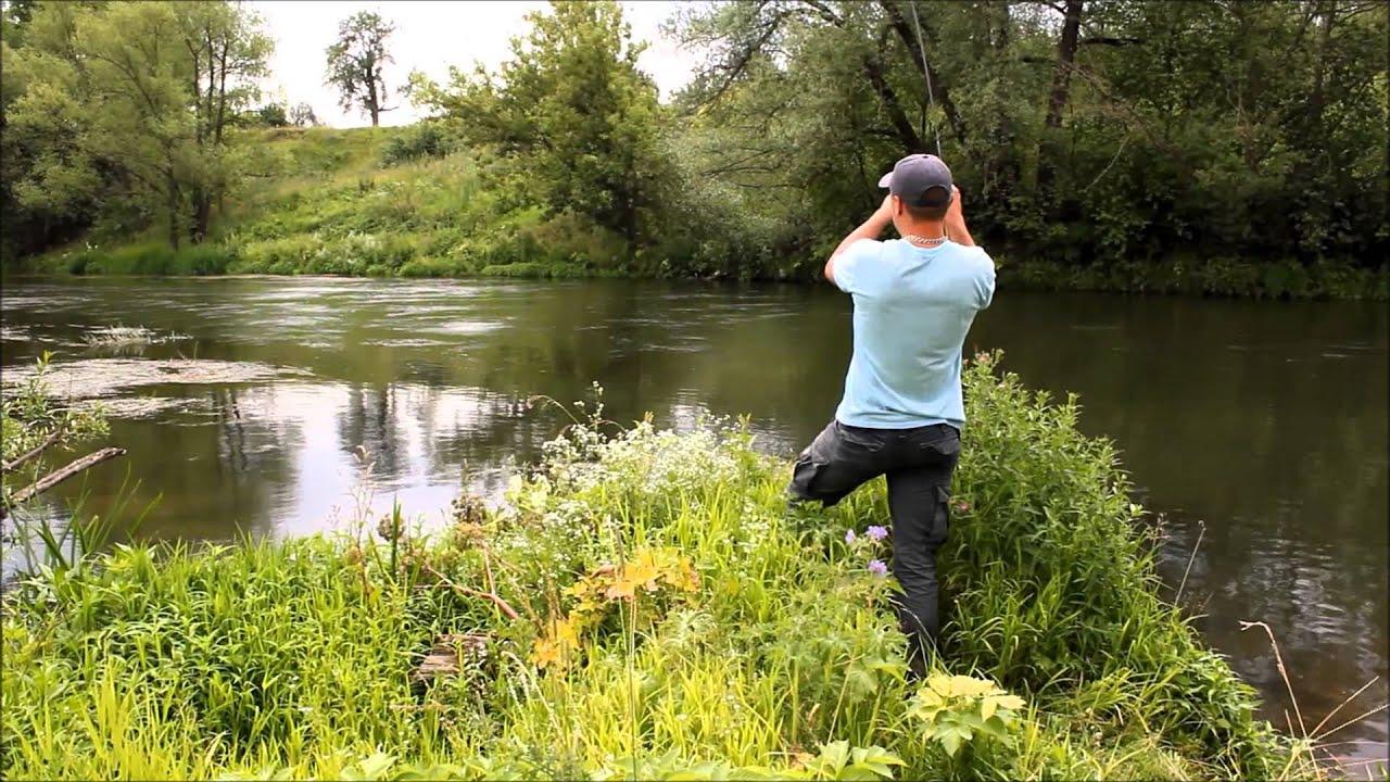 ловля на реке красивая меча