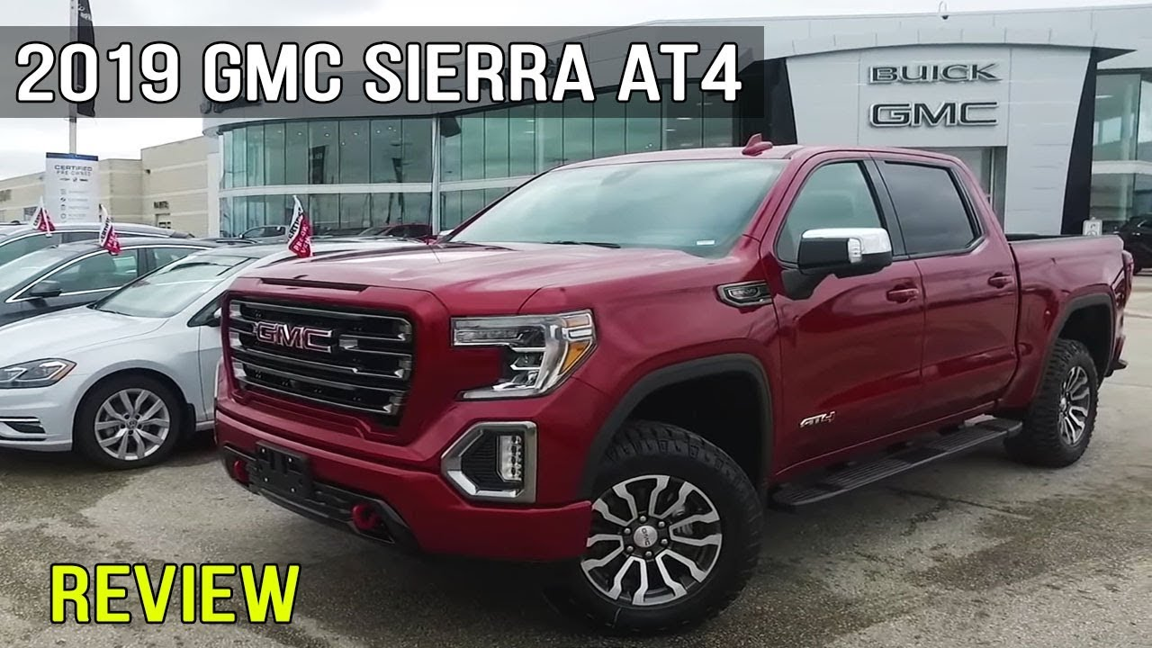 Review 2019 Gmc Sierra At4 Edition 6 2l Crew Cab