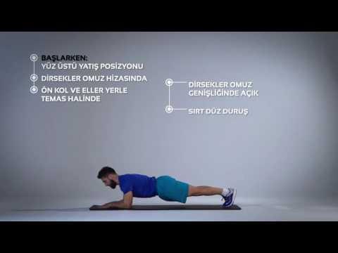 Elbow Plank Egzersizi Nasıl Yapılır? | Barcin.com