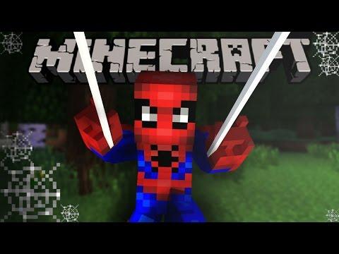 Майнкрафт ЧЕЛОВЕК ПАУК 2 БЕЗ МОДОВ - Minecraft Spiderman