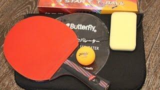 видео Ракетка для настольного тенниса