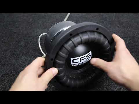 SR8 700 Max Power Car Subwoofer Free Air Test on 40Hz test tone