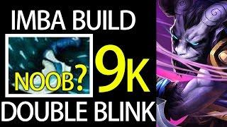 Definetly NOOB? Double Blink Riki 9k MMR Build Gameplay By Forev