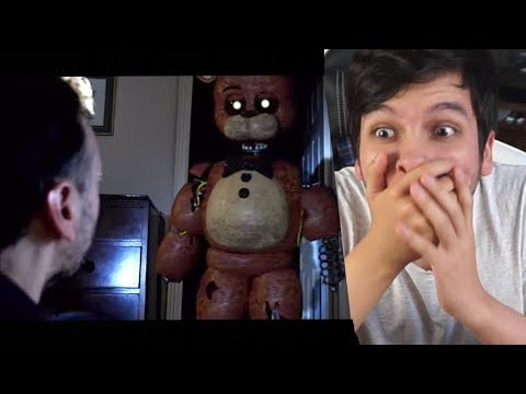LA PELÍCULA DE THE JOY OF CREATION !! FIVE NIGHTS AT FREDDYS REAL Epic Reacción