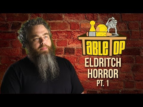 TableTop: Wil Wheaton Plays Eldritch Horror w/ Patrick Rothfuss, Stef Woodburn, & Jess Marzipan pt 1