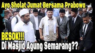 KOCAK! Beredar  Pamflet  Prabowo Mau Shalat, Pamer Nih Ye...