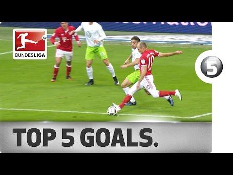 Top 5 Goals featuring Costa, Reus, Robben and More!