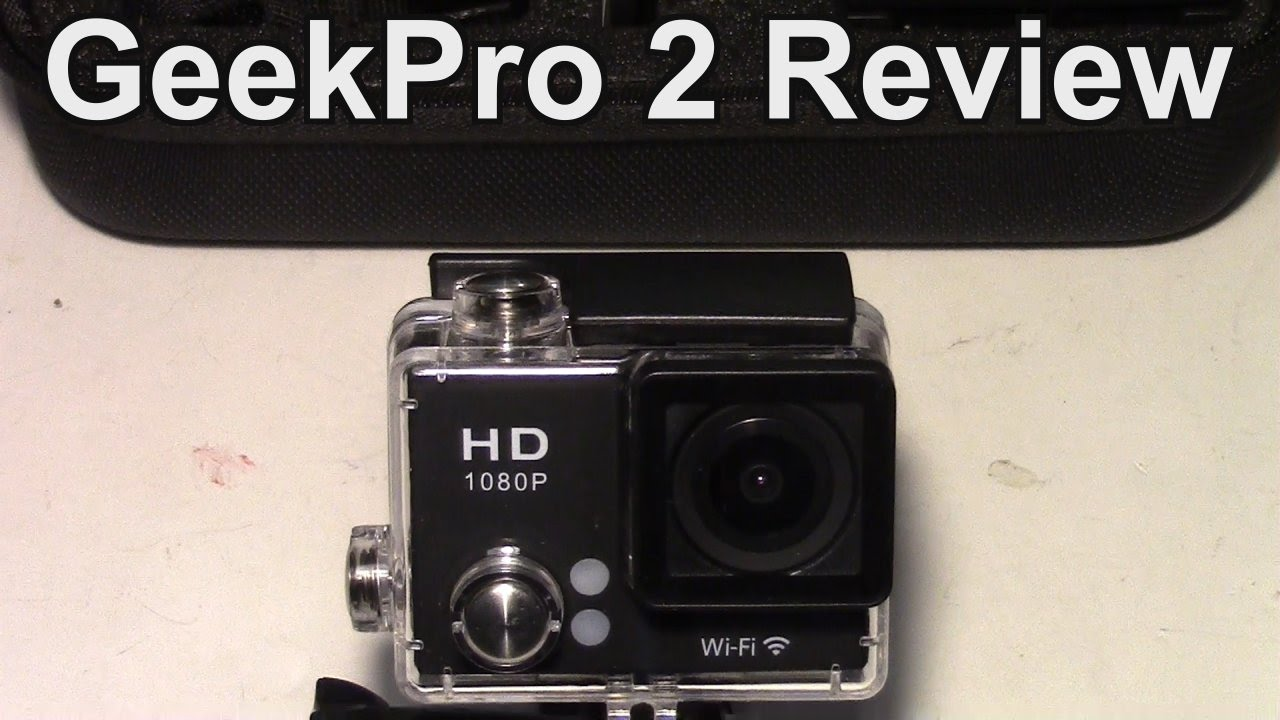 Geekpro Camera Review : Geek pro wifi action cam review and testing youtube