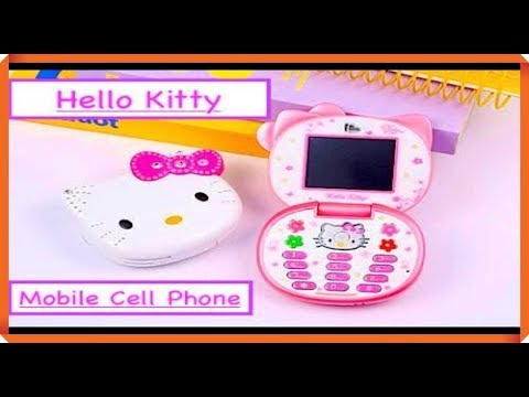 Hello Kitty Kids Mobile Cell Phone Unboxing & Showcase 📞