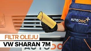 Wymiana Filtr olejowy VW SHARAN: instrukcja napraw